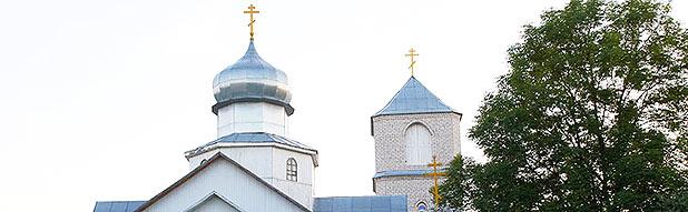 Храм святителя Николая Чудотвоца г.Сенно