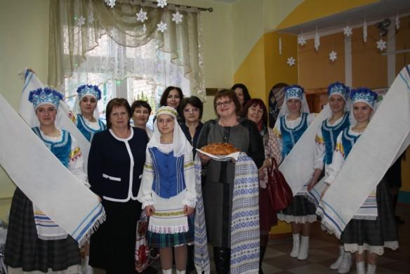 Встреча делегации муниципального образования «Починковский район» Смоленской области