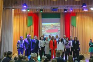 Сенно посетили звёзды белорусского биатлона