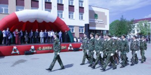 Празднование Дня Победы в Сенно