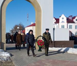 Праздничные митинг и концерт в честь Дня защитников Отечества. Фото А.Карбовского